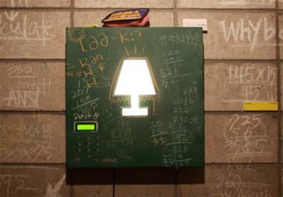 cal chalk 400x278 Licht an  pfiffiges Energiesparen