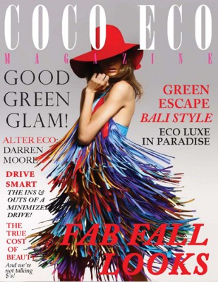 coco eco mag 309x400 Green Glamour