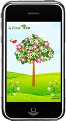 arealtree screenshot thumb A Real Tree  mit dem iPhone einen Baum pflanzen